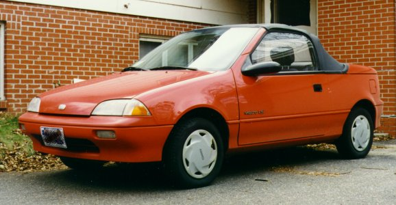 Purchased second 1991 Geo Metro LSi convertible. Odometer: 78498